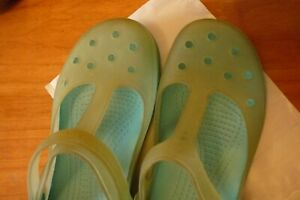 Crocs size 4 UK Mary Jane style great condition
