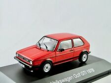VW Golf I GTI  1978-1980  rot    /    IXO/Altaya   1:43