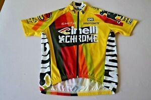 Team Cinelli Chrome 2017 Cycling Jersey Made in Italy by Santini size- XS