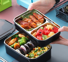 Stainless Steel Two-layers Bento Box Food Container