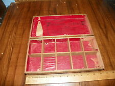 Vintage AMERICAN FOUNTAIN SYRINGE NO.2 FITTINGS Wooden Box