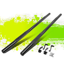 """3""""BLACK SIDE STEP RAIL NERF BARS RUNNING BOARDS FOR 15-18 FORD F-150 EXT CAB"""