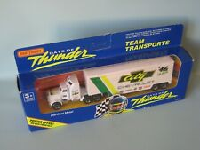 Days of Thunder Matchbox Convoy Kenworth Box Truck City Chevy Racing 180mm Boxed