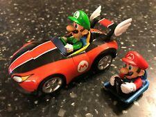 1:43 CARRERA SLOT CAR for Wii SUPER MARIO KART GO!!! mario wild wing car + luigi