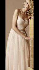 Matthew Eager Tulle Nude Dress Size 12