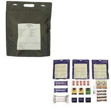 Emergency army survival food vegetarian meal 24h ration military prepper MRE