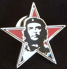 Che Guevara Flag Lapel Pin / Badge - Brand New, Free P&P -  Cuba, Revolution