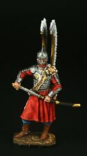 Tin soldier, Collectible, Polish Winged Hussar 54 mm, Europe XVII c.