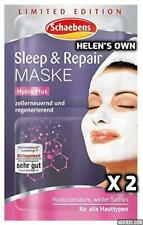 SLEEP & REPAIR Face Mask by Schaebens, Limited Edition, Double Pack 4 x 5ml