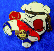 BANGKOK MUAY THAI KICK BOXING SPORTS *POLAR* BEAR SERIES Hard Rock Cafe PIN LE