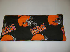 """CORN Heating Bag HOT or COLD-6""""x14"""" Cleveland Browns Tailgate GIFT"""