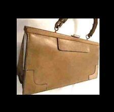 GOLDPFEIL Handtasche LEDER Exklusiv LUXUS Premium ABENDTASCHE Edelmanufaktur 1A#