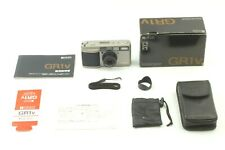 【N MINT+++】Ricoh GR1V Point & Shoot 35mm Film Camera w/ Case by FedEx From JAPAN