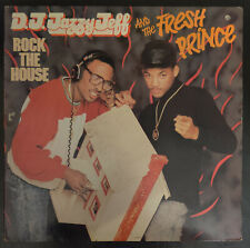 D.J. Jazzy Jeff and the FRESH PRINCE Rock the HOUSE Vinyl Record E.P.