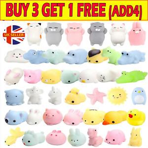 10/30 Cute Mochi Squishies Kids Toys Animal Fidget moshi Cute Kawaii Rilakkuma V