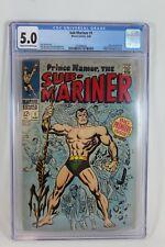 Marvel Comics 1968 Prince Namor the Sub-Mariner #1 CGC 5.0