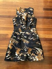 Stunning Cue camouflage dress, 8 - 10, perfect work dress