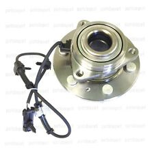 Front Wheel Hub & Bearing Assembly with ABS for Chevy GMC 4X4 4WD AWD Brand New