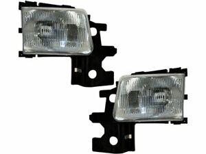 For 1994 Dodge B250 Headlight Assembly Set 73192MF Headlight Assembly