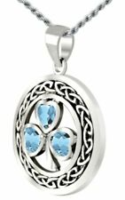 Aquamarine White Gold Fine Necklaces & Pendants