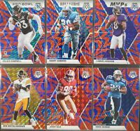 2020 MOSAIC FOOTBALL - BLUE REACTIVE - PRIZM - COMPLETE SET - SINGLES - PYC