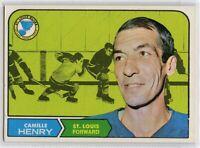 1968-69 Topps #116 Camille Henry EX-NM SET BREAK (112219-21)