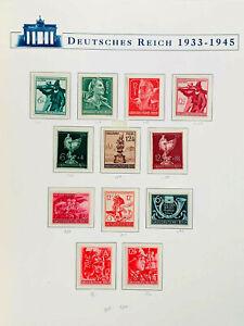 XXL Briefmarken-Fundgrube: Uralte Alben, Vordrucke, Sammlungen, Deut. Reich,17kg