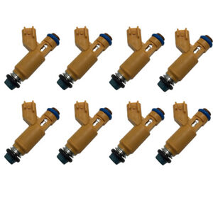 8 x Fuel Injectors 2W93-AA for Denso Jaguar Land Rover Range Rover 4.2L 4.4L V8