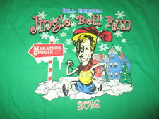 2016 Marathon Sports BILL RODGERS Jingle Bell Run (XL) T-Shirt BOSTON MARATHON