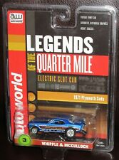 AW Auto World R20 Legends Quarter Mile Plymouth Cuda Whipple Mcculloch Funny HO