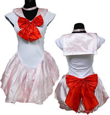 Anime Sailor Moon Mars Costume Cosplay Uniform Fancy Party Dress  One Size