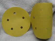"""NORTON 5"""" DA P400 Grit PSA No-Fil ADALOX Self Stick Sandpaper 100 Disc Roll"""