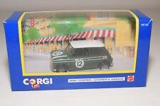^ CORGI TOYS 98142 MINI COOPER COOPER'S GARAGE DARK GREEN MINT BOXED