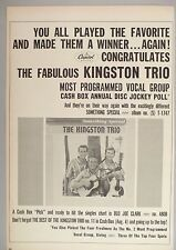 The Kingston Trio PRINT AD - 1962 ~~ Something Special