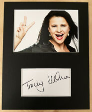 TRACEY ULLMAN HAND SIGNED Autograph Mounted With Photo ACTRESS SINGER Comedian