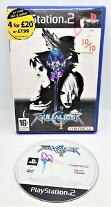 SoulCalibur II 2 Video Game for Sony PlayStation PS2 PAL TESTED