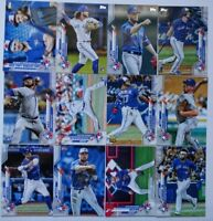 2020 Topps Series 1 Toronto Blue Jays Base Team Set 12 Baseball Cards
