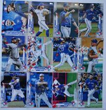 2020 Topps Series 1 Toronto Blue Jays Base Team Set 12 Baseball Cards