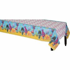 "New  !! Trolls the Movie Plastic Table Cover, 54"" x 96"" Free Shipping!!!!"