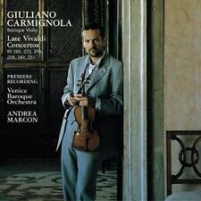 Late Vivaldi Concertos Carmignola Venice Baroque Orch Marcon (CD Sony '02)