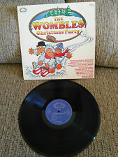 "THE WOMBLES CHRISTMAS PARTY LP VINYL 12"" 1973 UK EDITION VG/VG HALLMARK"