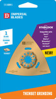 Imperial Blades  Starlock  3-1/8 in. Dia. Carbide Grit  Oscillating Saw Blade