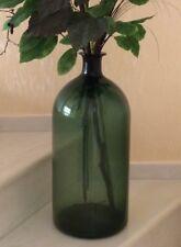 Bodenblumenvase 53 cm Bohemia grünes Glas Deko