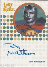 THE COMPLETE LOST IN SPACE DON MATHESON IDAK REVOLT OF THE ANDROIDS AUTOGRAPH