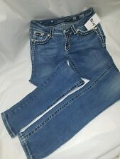 Women's Miss Me Jeans Size 27 Skinny JP5002SK-27 Actual waist 28
