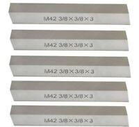 "20pcs 3//8x3//8x3/"" 10/% cobalt HSS Square tool bits for $109.00 #HS-CO2B-38---new"