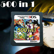 500 in 1 Video Game Card Cartridge Multicart For Nintendo NDS NDSL NDSi 3DS US