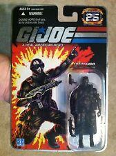 G.I. Joe 25th Anniversary Snake Eyes version 1 Hasbro new Foil mint on card GI