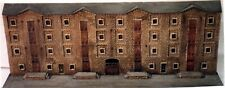 More details for stone factory/warehouse low relief nv10set unpainted n gauge scale models kit