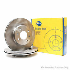 New Fits Nissan Note E12 1.5 dCi Genuine Comline Front Brake Discs Pair x2